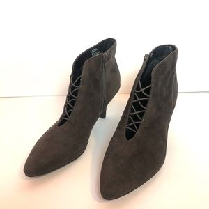 "Rialto | 3 1/2"" High Heel Opened Front Booties"